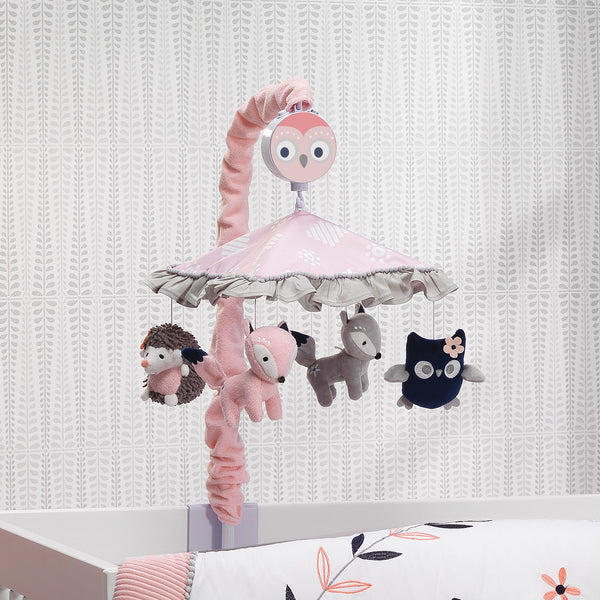 Forever Friends Musical Baby Crib Mobile by Lambs & Ivy
