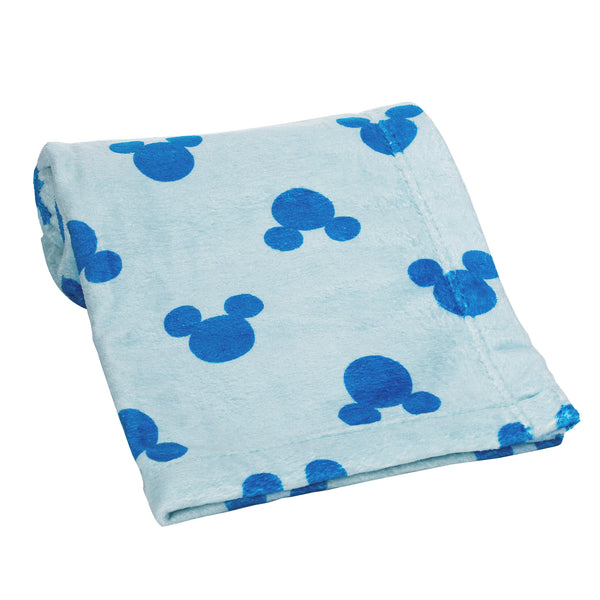 Forever Mickey Mouse Baby Blanket by Lambs & Ivy