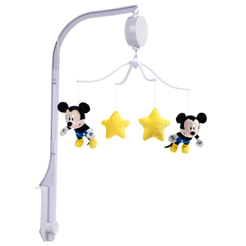 Forever Mickey Mouse Musical Baby Crib Mobile by Lambs & Ivy