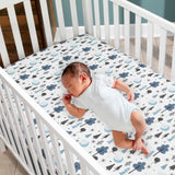 Forever Pooh Fitted Crib Sheet by Lambs & Ivy