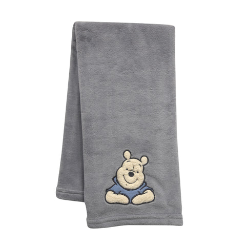 Forever Pooh Baby Blanket - Lambs & Ivy