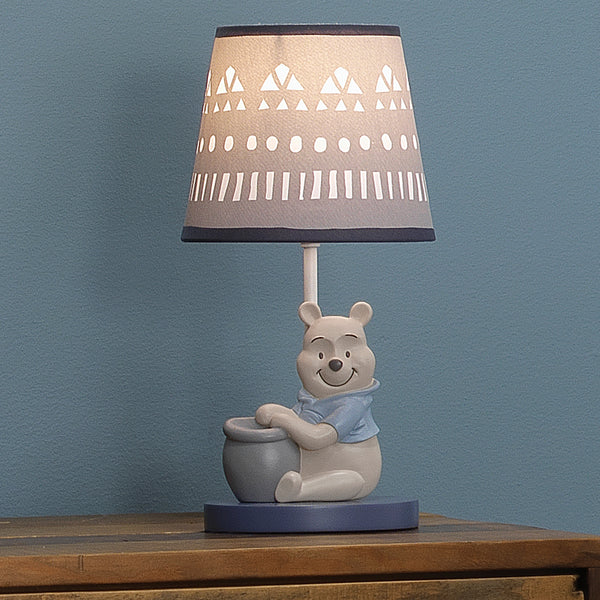 Forever Pooh Lamp with Shade & Bulb by Lambs & Ivy