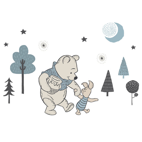 Forever Pooh Wall Decals - Lambs & Ivy