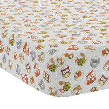 Friendly Forest Fitted Crib Sheet by Bedtime Originals