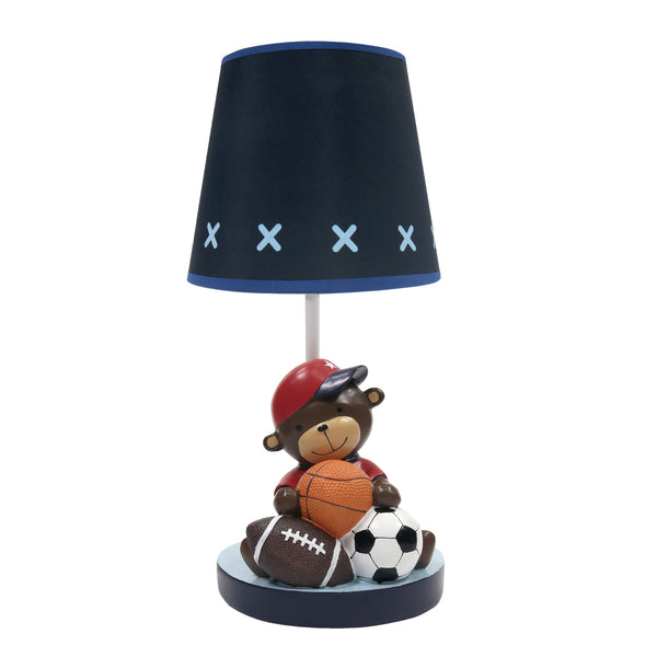Future All Star Lamp with Shade & Bulb by Lambs & Ivy