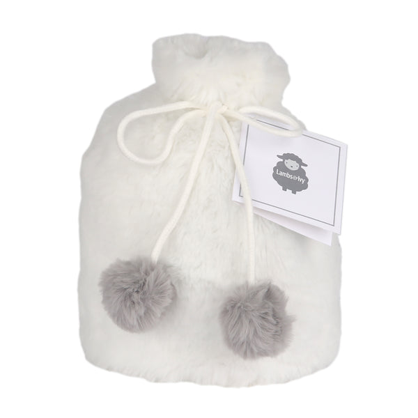 5 Piece Gray/White Baby Gift Set - Lambs & Ivy