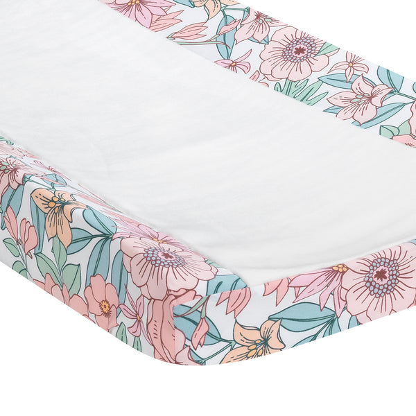 Giraffe and a Half Changing Pad Cover by Lambs & Ivy