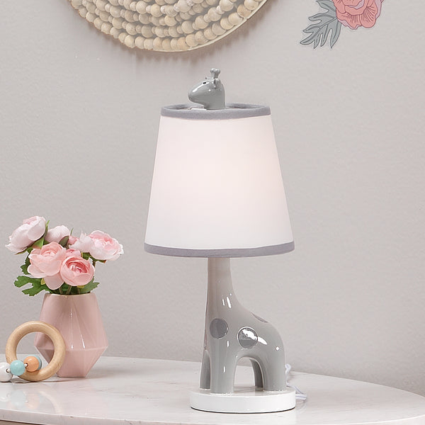 Giraffe and a Half Lamp with Shade and Bulb by Lambs & Ivy