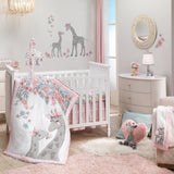 Giraffe and a Half Fitted Crib Sheet by Lambs & Ivy