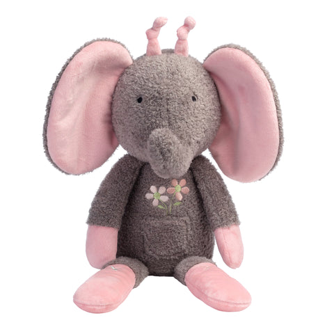 Girls Rule the World Plush Elephant - Daisy by Lambs & Ivy