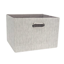 Gray Foldable Storage Basket by Lambs & Ivy