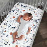 Hall of Fame 5-Piece Crib Bedding Set by Lambs & Ivy