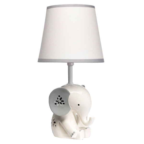Happy Jungle Lamp with Shade & Bulb by Lambs & Ivy