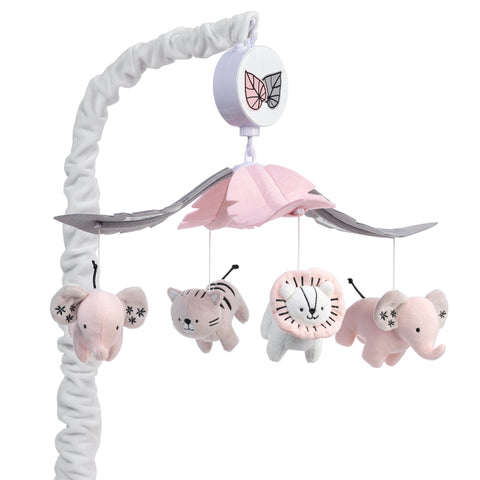 Happy Jungle Musical Baby Crib Mobile by Lambs & Ivy