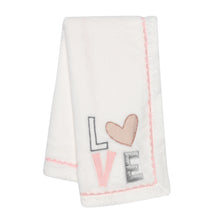 Signature Heart to Heart Baby Blanket - Lambs & Ivy