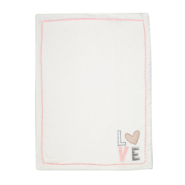 Signature Heart to Heart Baby Blanket by Lambs & Ivy