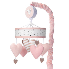 Heart to Heart Musical Baby Crib Mobile by Lambs & Ivy