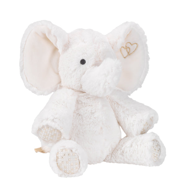 Signature Jamboree Plush Elephant - Marshmallow by Lambs & Ivy