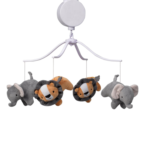 Jungle Fun Musical Baby Crib Mobile - Lambs & Ivy