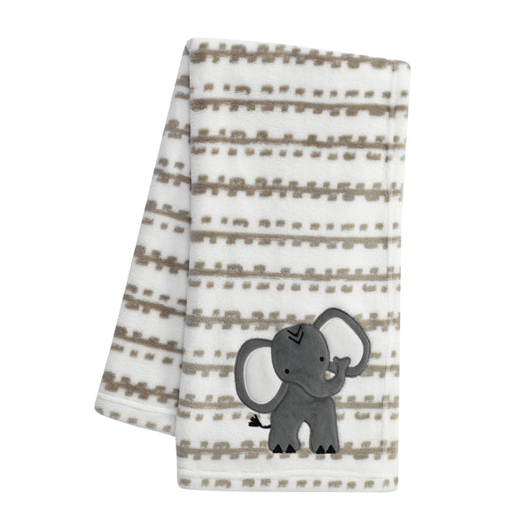 Jungle Safari Baby Blanket - Lambs & Ivy