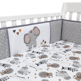 Jungle Safari 4-Piece Crib Bumper - Lambs & Ivy