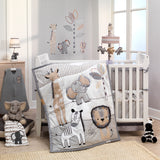 Jungle Safari 4-Piece Crib Bumper by Lambs & Ivy