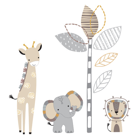 Jungle Safari Wall Decals by Lambs & Ivy