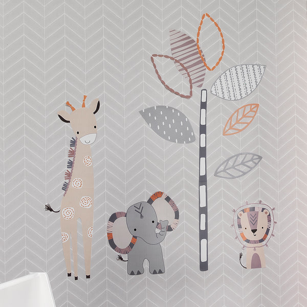 Jungle Safari Wall Decals - Lambs & Ivy