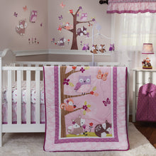 Lavender Woods 3-Piece Crib Bedding Set - Lambs & Ivy