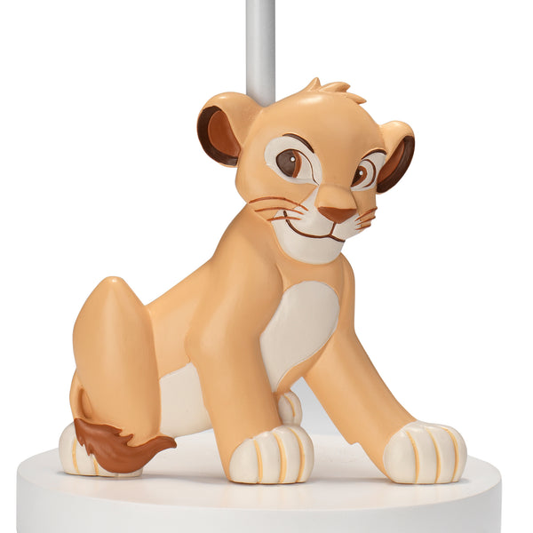 Lion King Adventure Lamp with Shade & Bulb by Lambs & Ivy