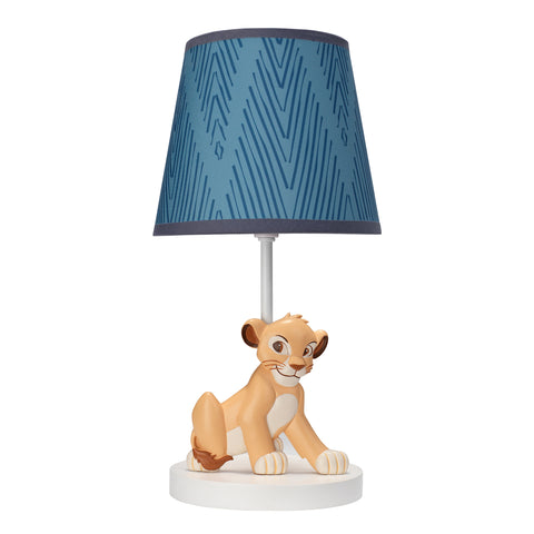 Lion King Adventure Lamp with Shade & Bulb - Lambs & Ivy