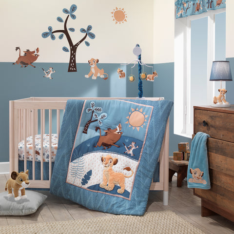 Lion King Adventure 3-Piece Baby Crib Bedding Set by Lambs & Ivy