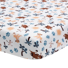 Lion King Adventure Fitted Crib Sheet by Lambs & Ivy