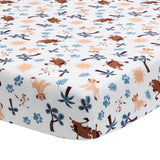 Lion King Adventure Fitted Crib Sheet - Lambs & Ivy