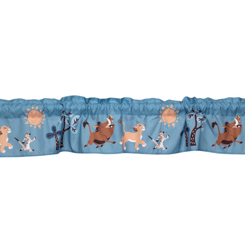 Lion King Adventure Window Valance by Lambs & Ivy