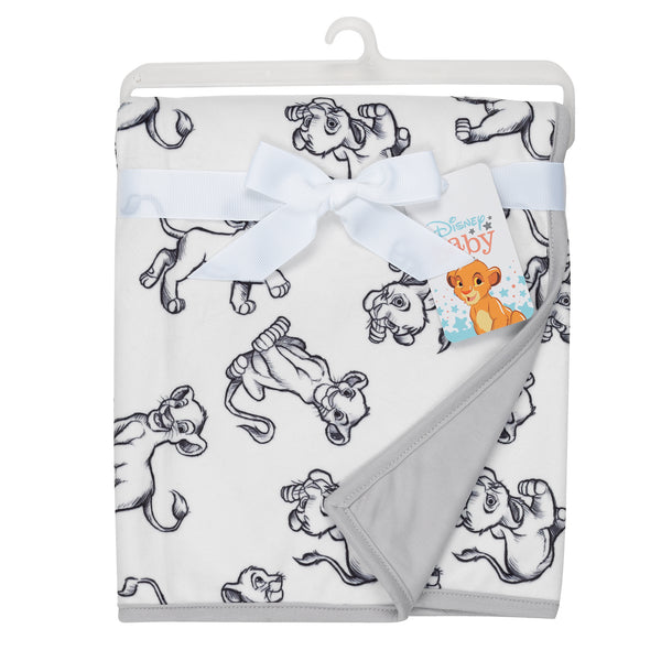 THE LION KING Baby Blanket - Allover - Lambs & Ivy