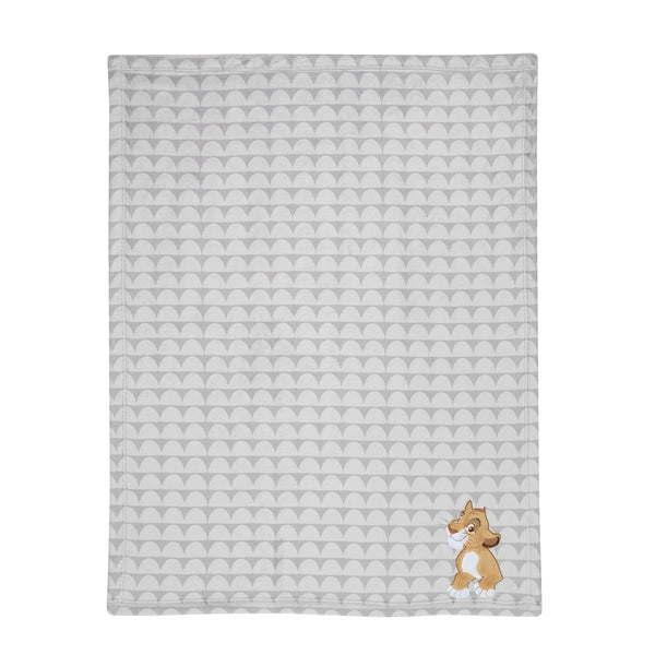 THE LION KING Appliqued Baby Blanket - Lambs & Ivy