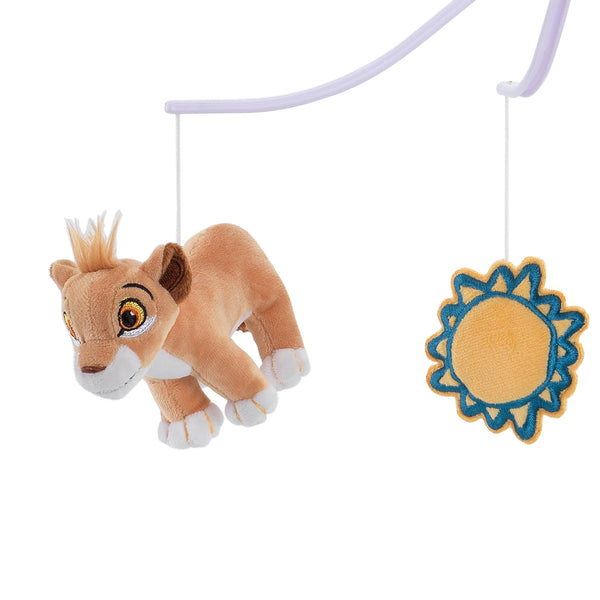 Lion King Adventure Musical Baby Crib Mobile by Lambs & Ivy