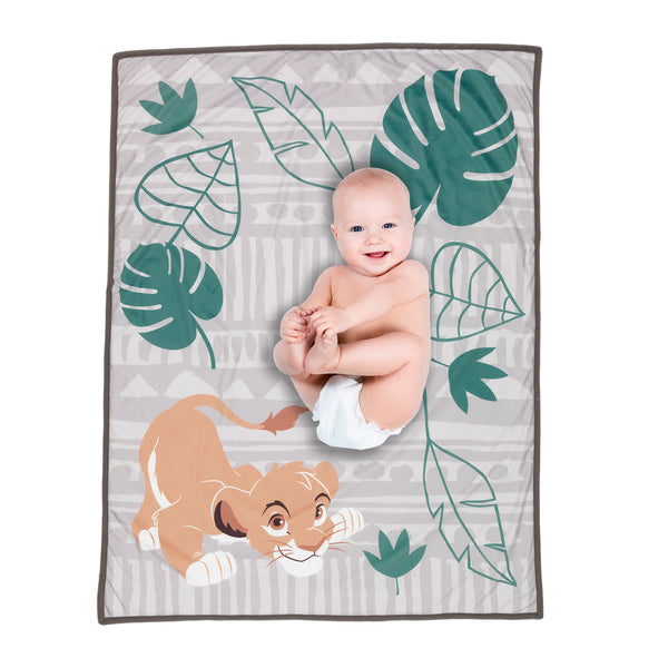 THE LION KING Picture Perfect Baby Blanket by Lambs & Ivy