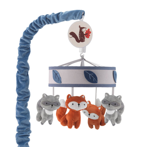 Little Campers Musical Baby Crib Mobile - Lambs & Ivy