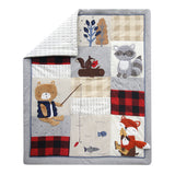 Little Campers Crib Bedding Set - Lambs & Ivy