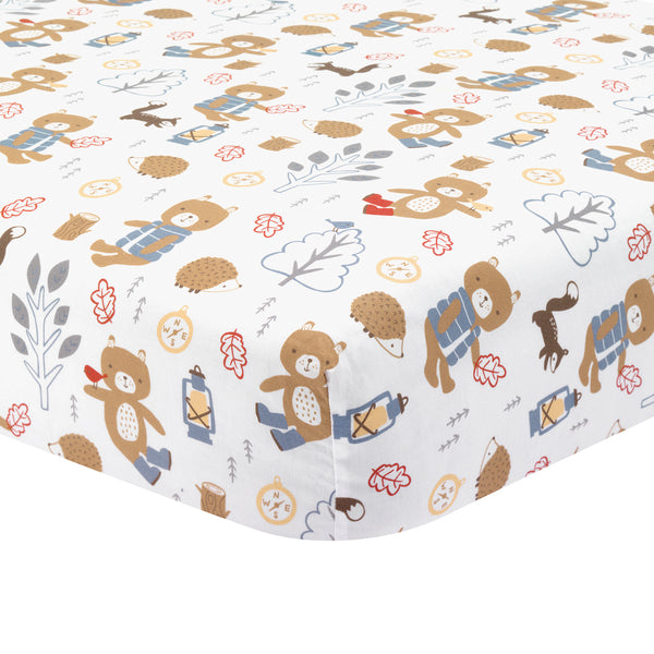Little Campers Crib Bedding Set by Lambs & Ivy