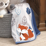 Little Campers Sherpa Blanket by Lambs & Ivy