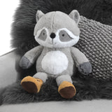 Little Campers Plush Raccoon - Pumpkin - Lambs & Ivy