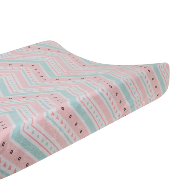Little Spirit Changing Pad Cover by Lambs & Ivy