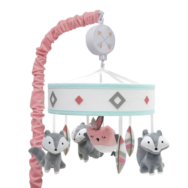 Little Spirit Musical Baby Crib Mobile - Lambs & Ivy