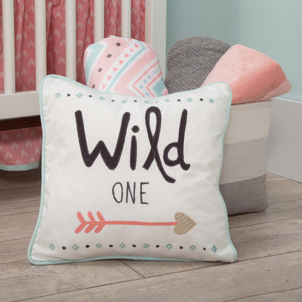 Little Spirit Decorative Pillow by Lambs & Ivy