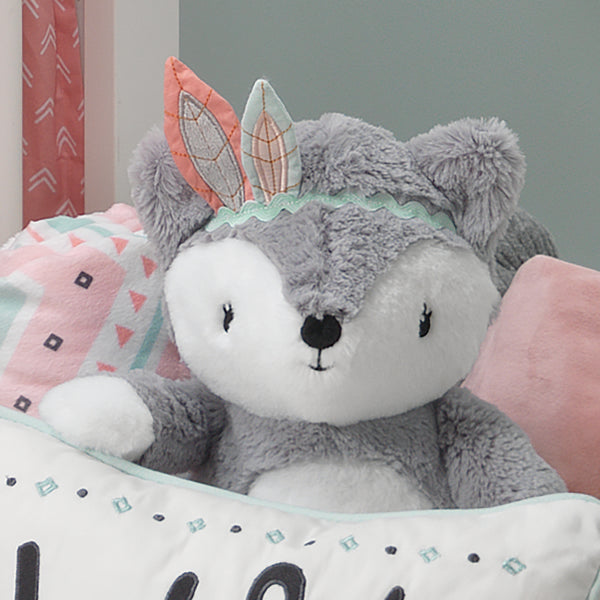 Little Spirit Plush Fox - Cheyenne - Lambs & Ivy