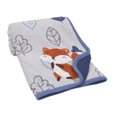 Little Campers Sherpa Blanket - Lambs & Ivy
