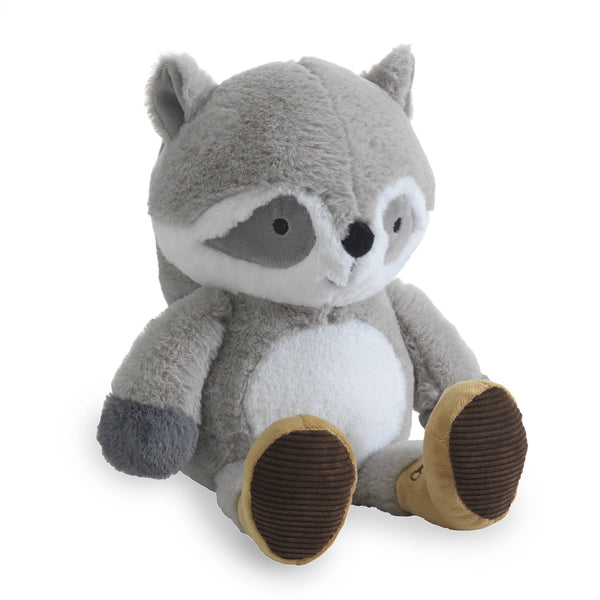 Little Campers Plush Raccoon - Pumpkin by Lambs & Ivy